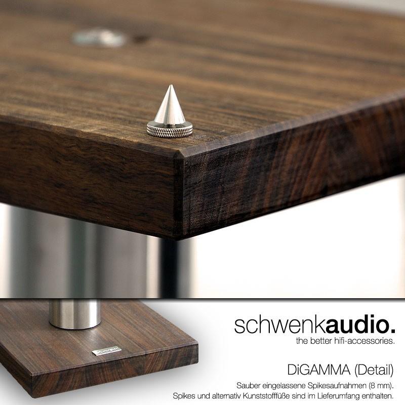 hifi lautsprecherst nder di ta nero assoluto 70 8. Black Bedroom Furniture Sets. Home Design Ideas