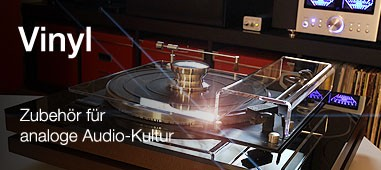 Zubehör für analoge Audio-Kultur